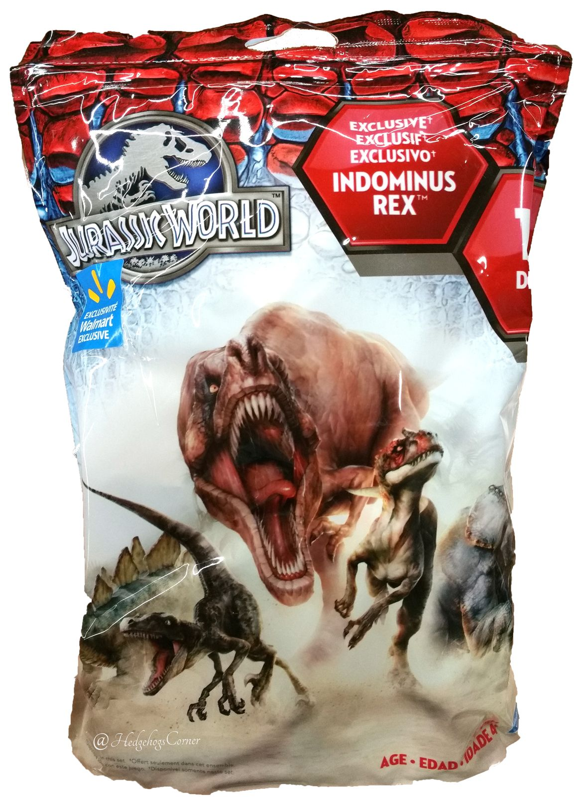 So cool! Jurassic World JW Large Bag of 15 Dinosaur