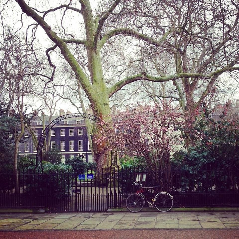 Bedford Square Garden Plaza In London Bedford Square London Town London Life