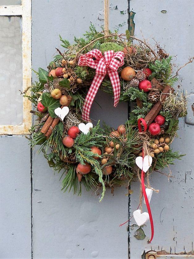 Photo of Door wreaths – door wreath malus – a unique product by zauberzimmer on DaWanda