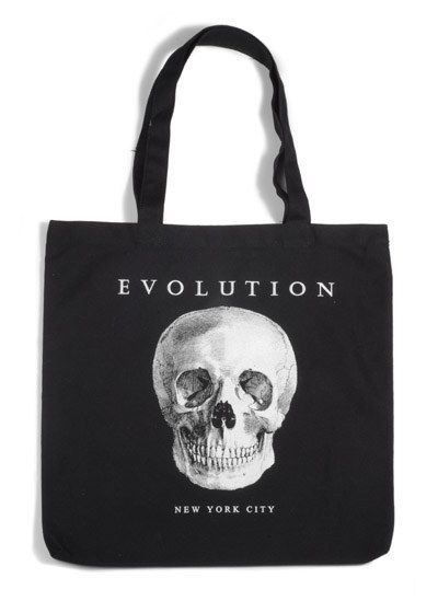 This tote from Evolution, which is basically a happy place for them. | 33 Gifts For Anyone Who F*cking Loves Science