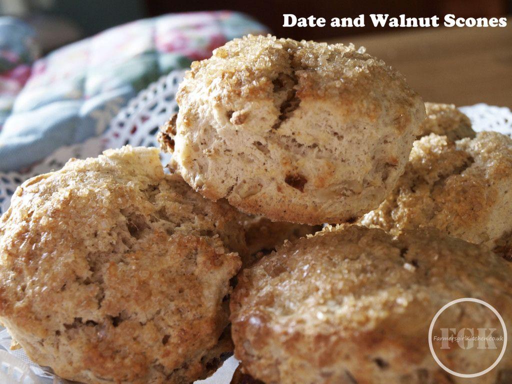 Date and Walnut Scones Walnut scone recipe, Scone recipe