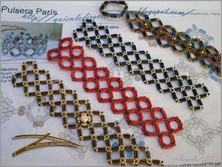 Quienlodira Creations: Outline Bracelet Paris
