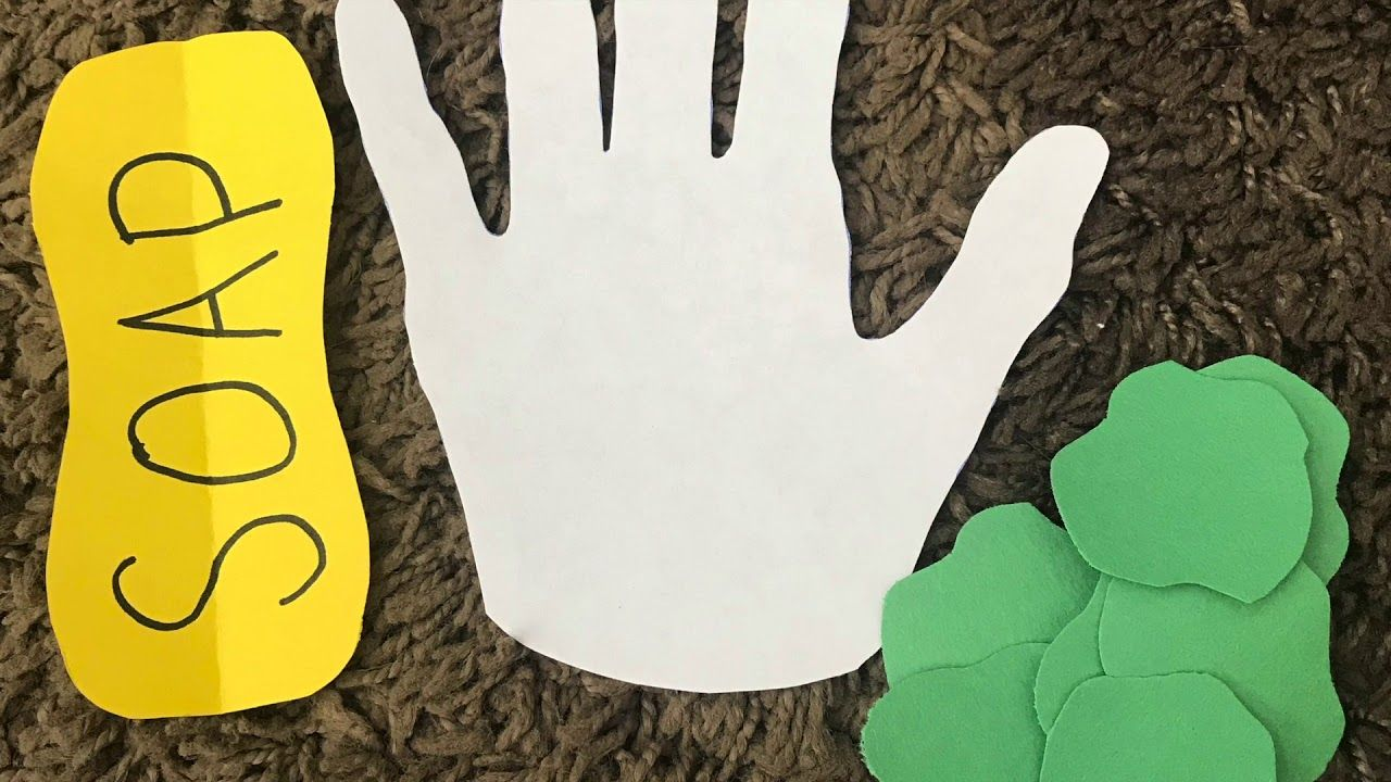This is a simple preschool craft you can do with a hand ...