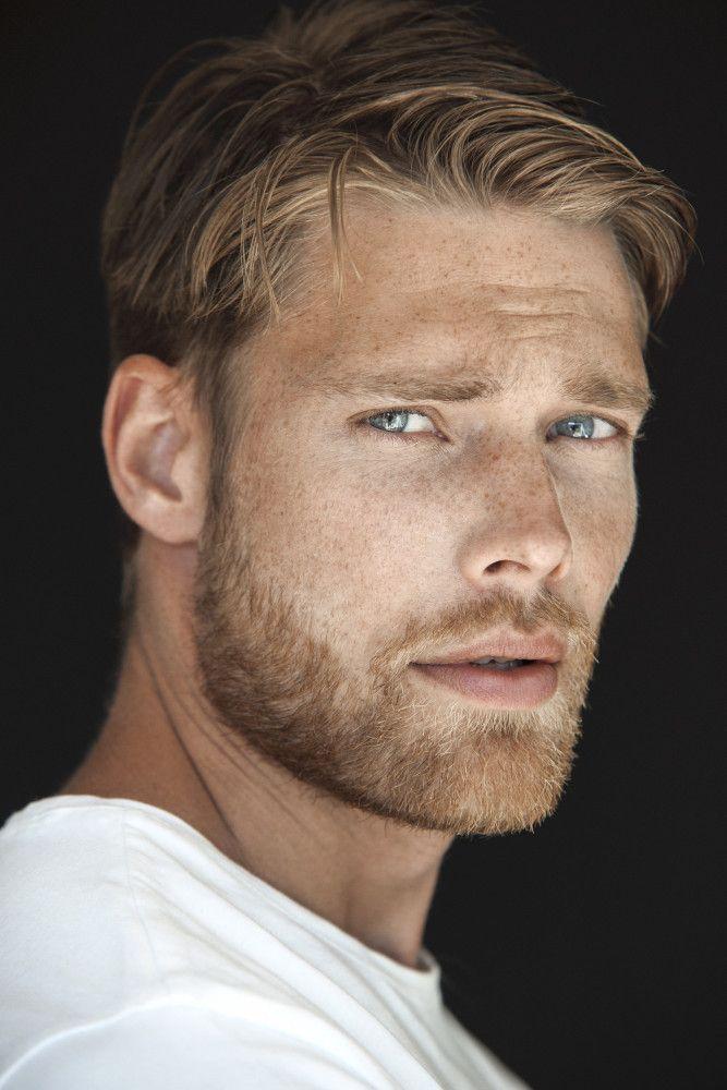 Baber S Ginger Blonde Guys Beautiful Men Faces Handsome Men