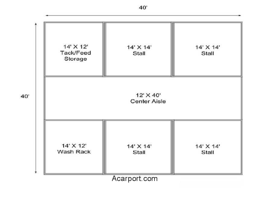 Horse barn floor plans horse barn floor plans horse for Horse barn prices and plans