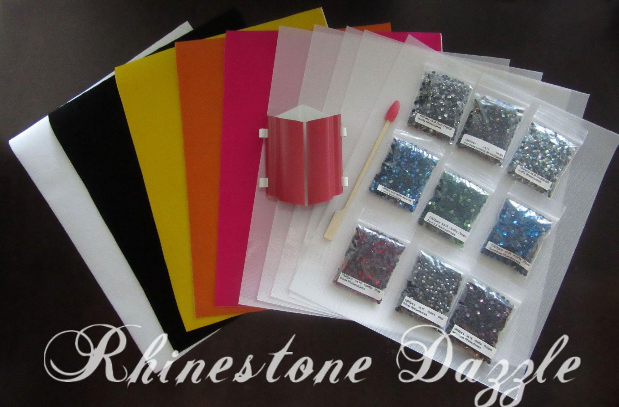 3000pcs Ss16 Hotfix Crystal Rhinestones Sticky Flock Template Etsy Rhinestone Transfers Design Rhinestone Sticker Crystal Rainbow