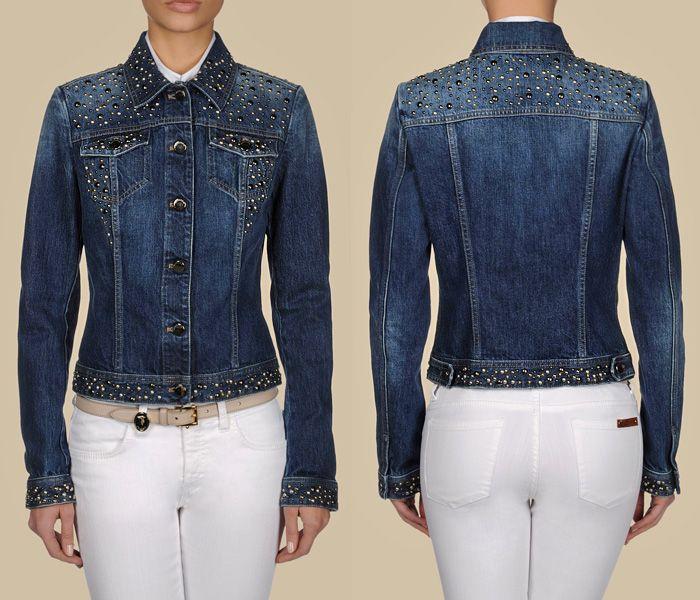 1000  images about Denim Jackets Embellished on Pinterest | Girl