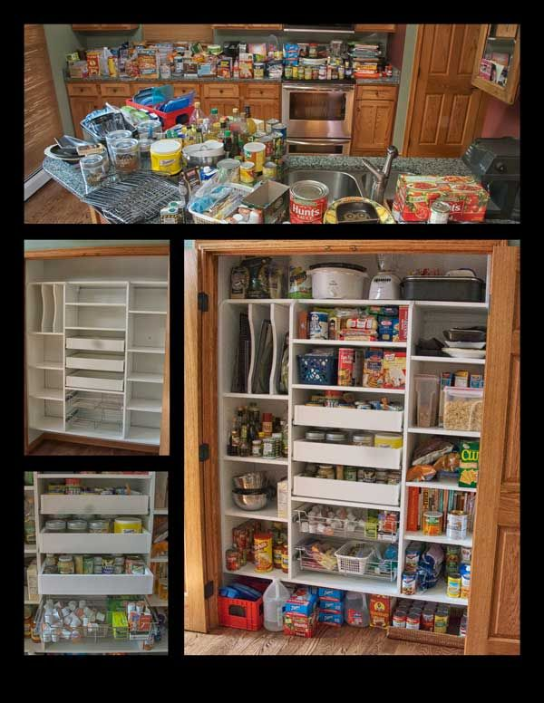 Pantry Closet Ideas | Closet Works   Chicago Kitchen Pantry Storage  Cabinets   Wood Pantry .