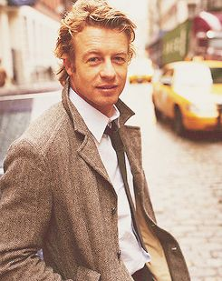 The Mentalist... and by that I mean Patrick Jane (Simon ...