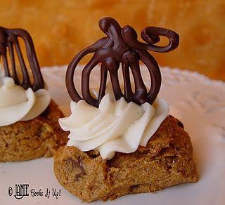 Love these chocolate pumpkins!