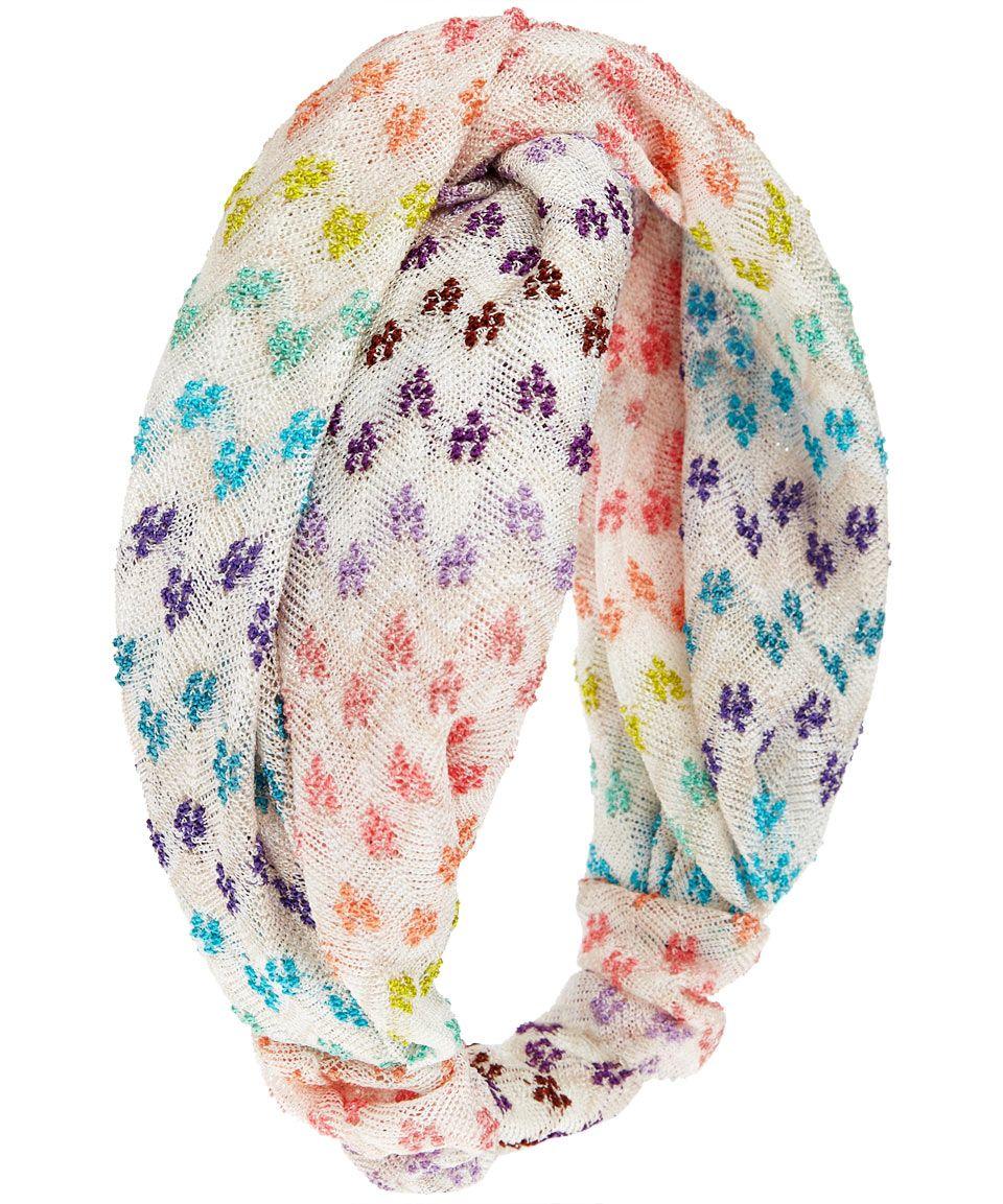 Multi coloured Fascia crochet headband from the Missoni collection. £60