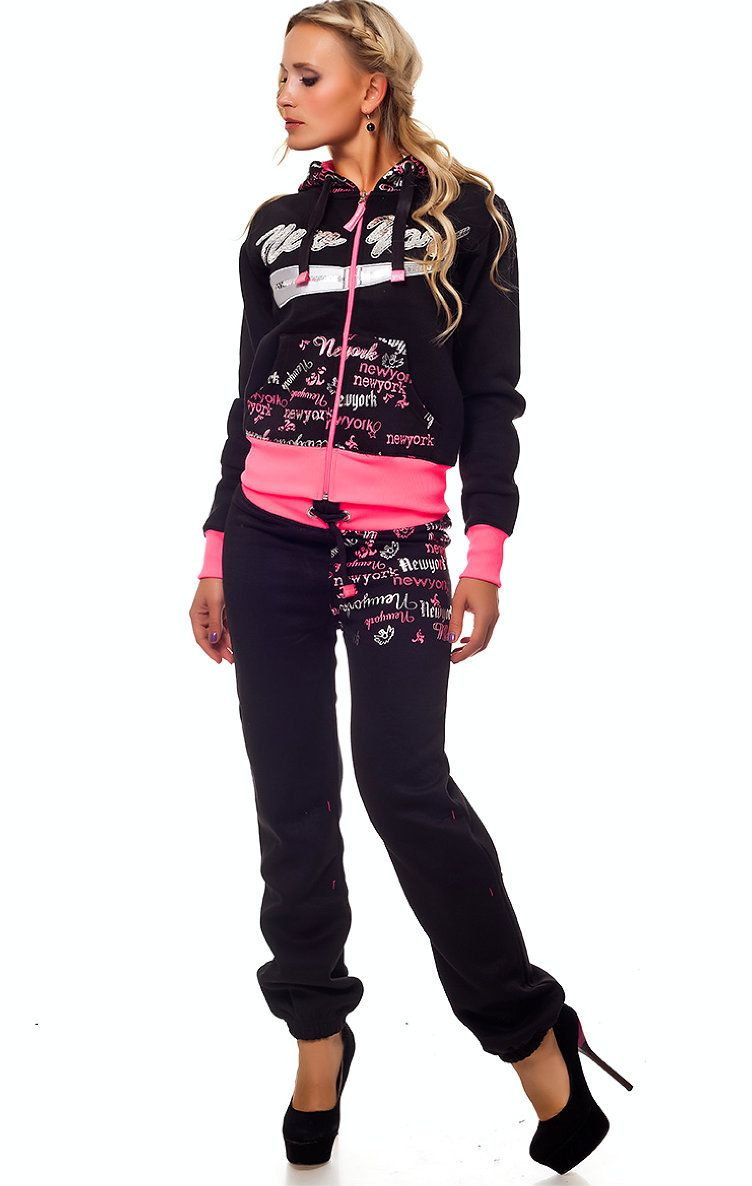 Rebelvision - NEW YORK TRACKSUIT BLACK-PINK, $119.99 (http://www.rebelvisiononline.com/new-york-tracksuit-black-pink/)
