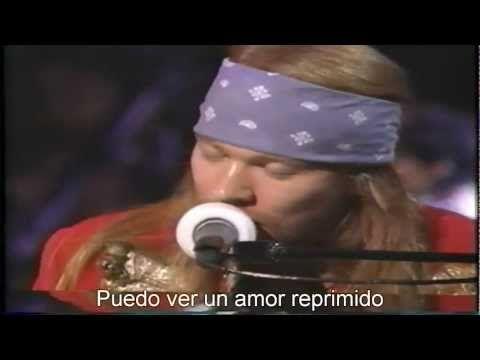 Guns N Roses November Rain Subtitulada Traducida Español Mtv Awards November Rain Mtv Video Music Award