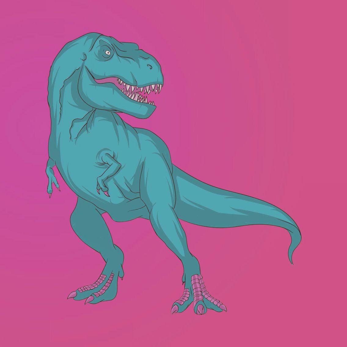T. rex illustration. | My Art | Pinterest | Fondos para iphone, El ...