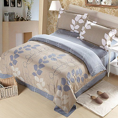 Nclon Double Double Sided Duvet Cover Set Bed Set Bedding 100