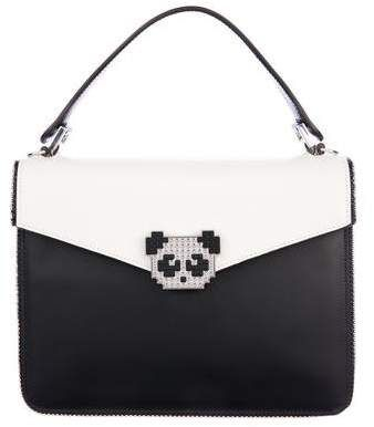 95a7852b926891 $545, Les Petits Joueurs Pixie Metal Panda Bag. Funny and Beautiful #bags # handbags #shoulderbag #bolsa #style #shopstyle #affiliatelink #mystyle # ...