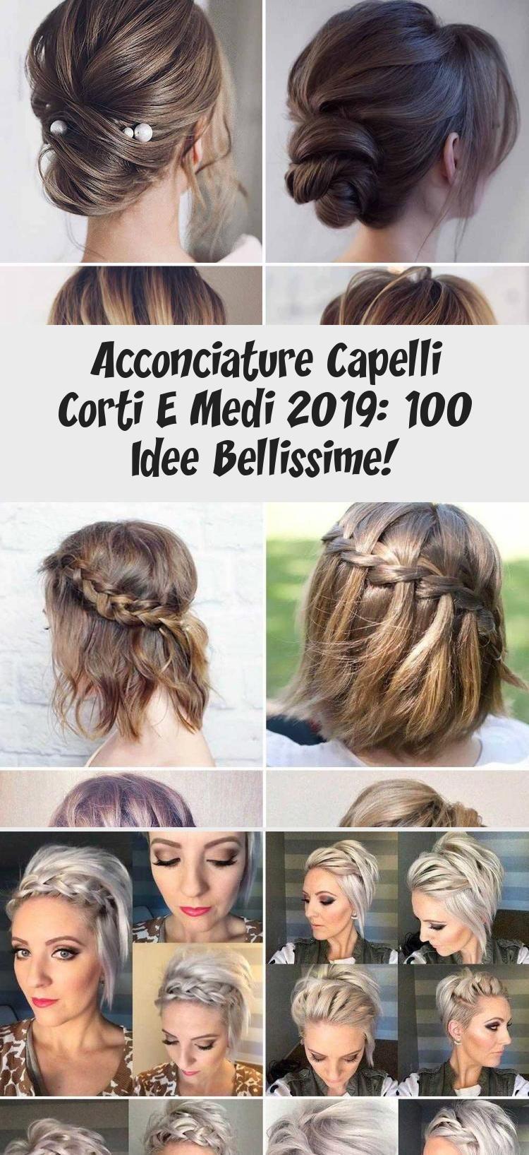 Acconciature Capelli Corti E Medi 2019: 100 Idee ...
