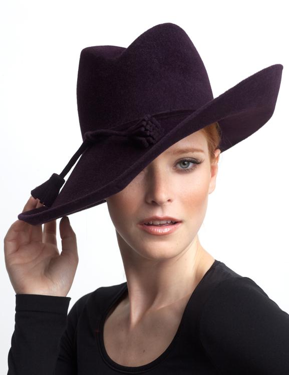 Penelope Pitstop Hat by Sylvia Fletcher £235