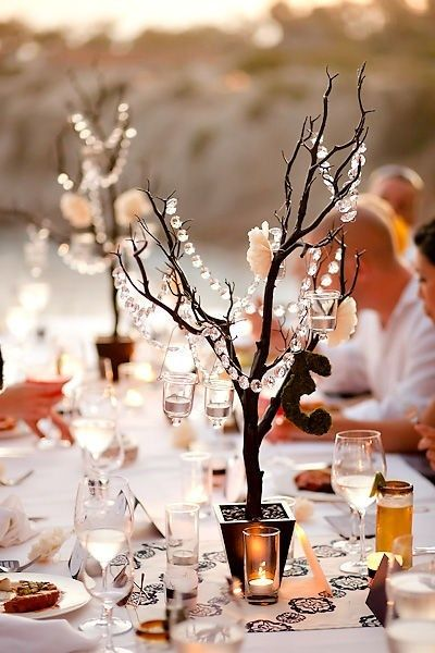 Decorating Ideas For Backyard Fall Wedding Centerpieces