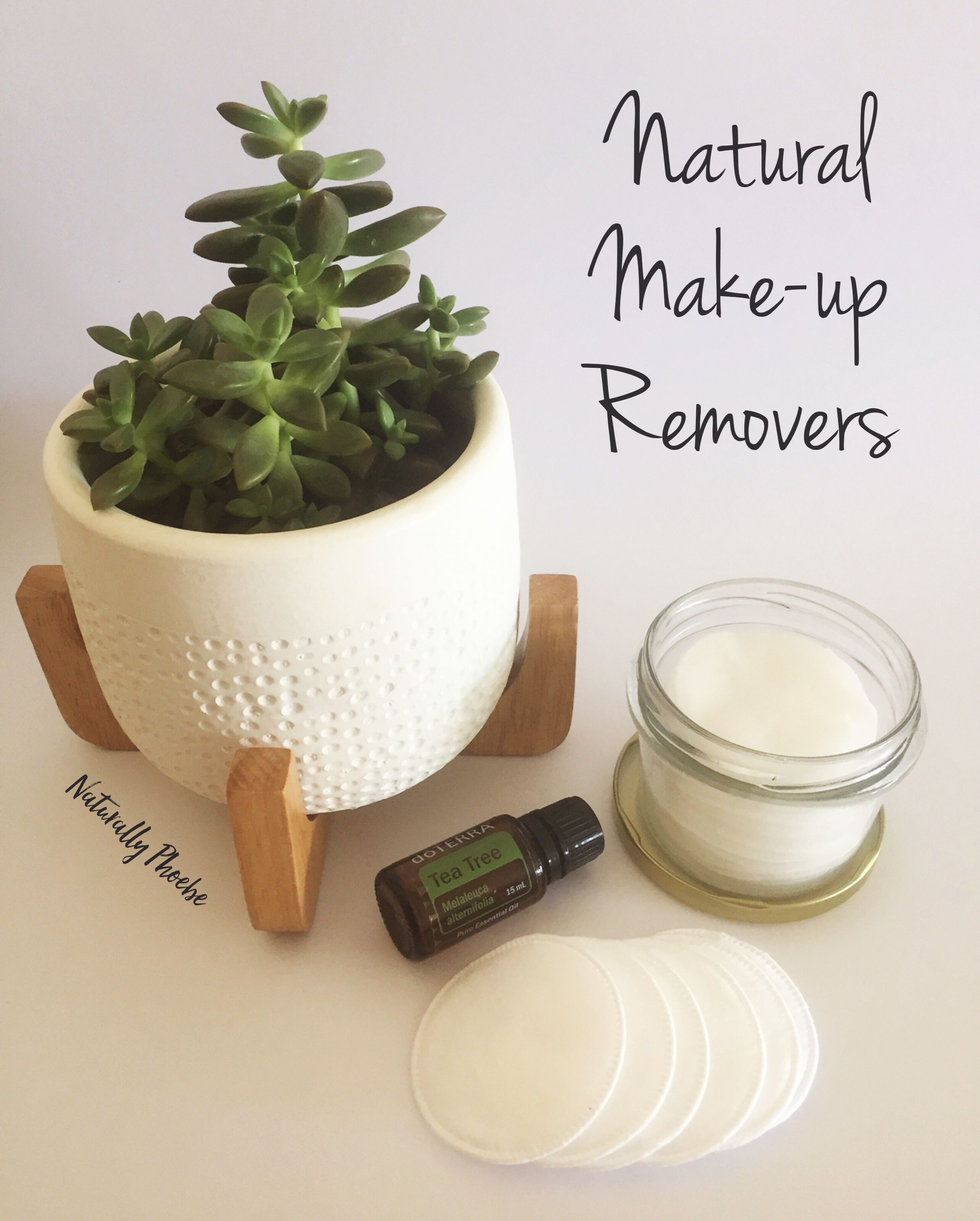 Make your own easy, nontoxic make up remover wipes