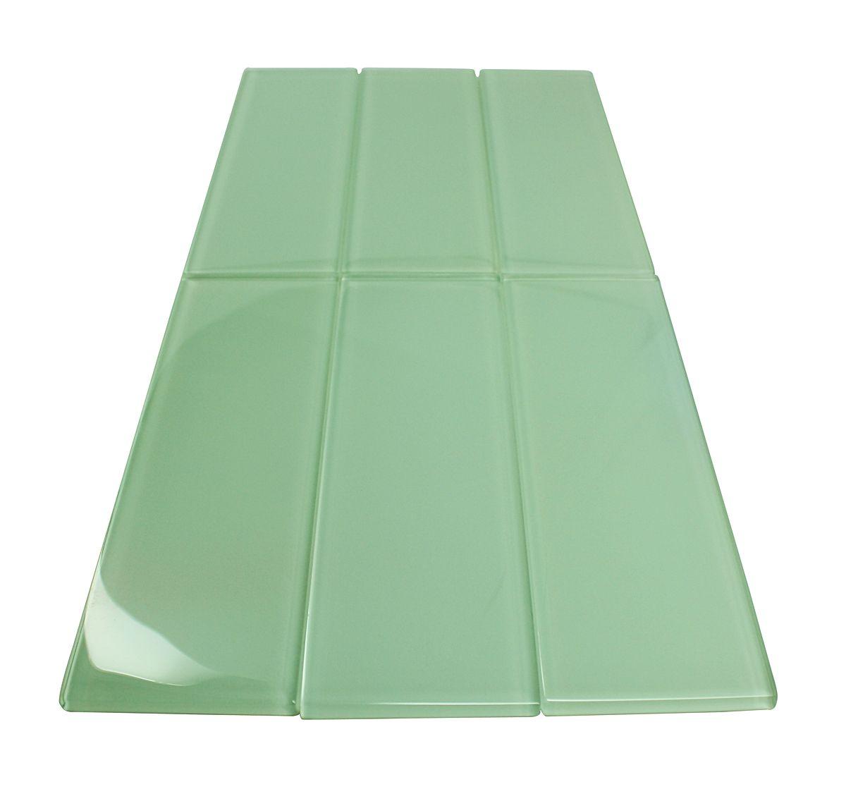 3x9 L009 Glossy Subway Tile Tumbled Marble Tile