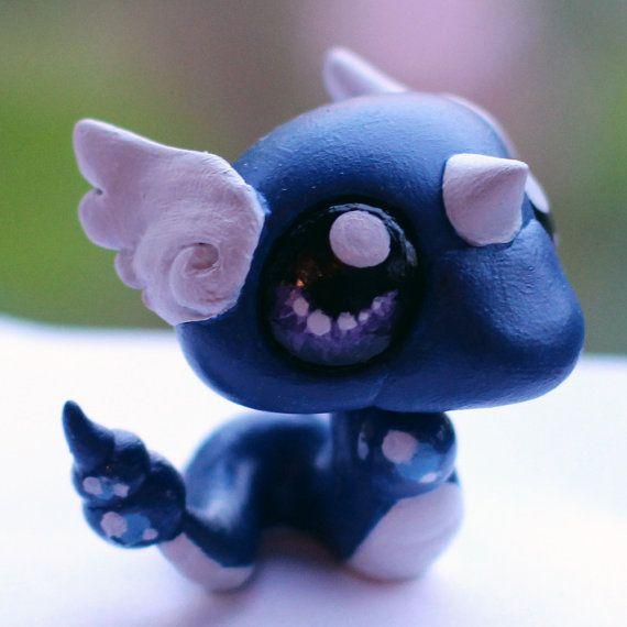 Dragonair Pokemon Littlest Pet Shop custom