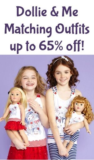 Dollie   Me  Matching Outfits for Girls and Dolls ~ up to 65% off ... 59d4cfd46