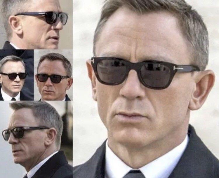 ed82ef29b34e James Bond 007 SPECTRE TOM FORD Snowdon Sunglasses TF 237 05B  fashion   clothing