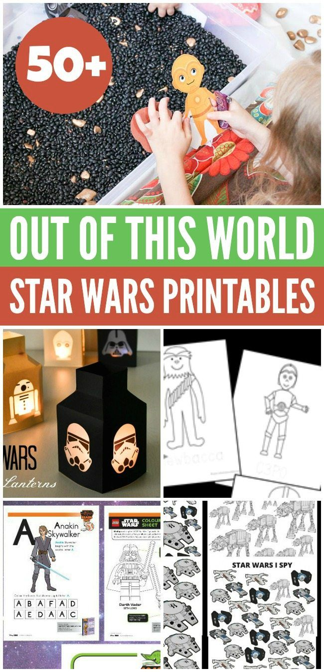The biggest Star Wars printables and coloring resource in the galaxy ...