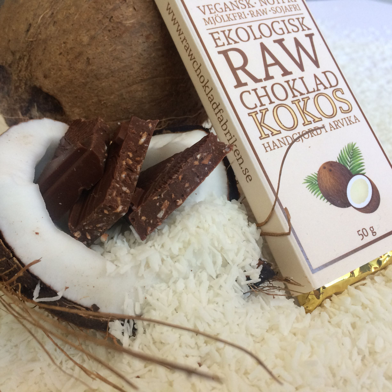 Rawchoklad Kokos - Rawchocolate Coconut