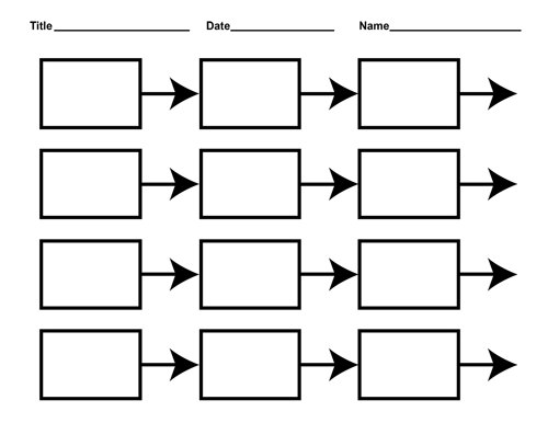 Free Blank History Timeline Templates for Kids and