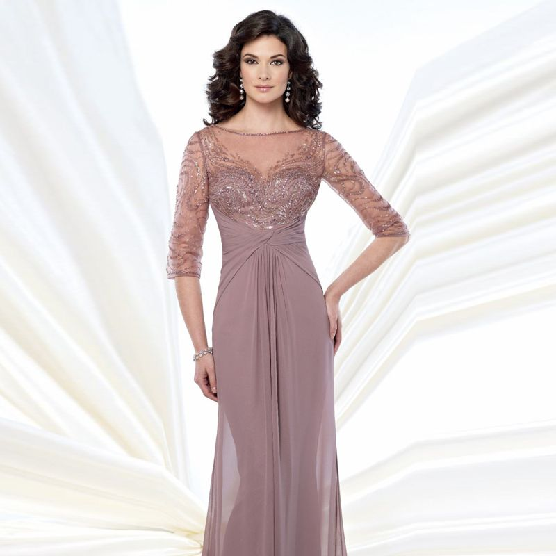 64ad155bd Aliexpress.com: Comprar Vestido De madrina cuello barco con ...