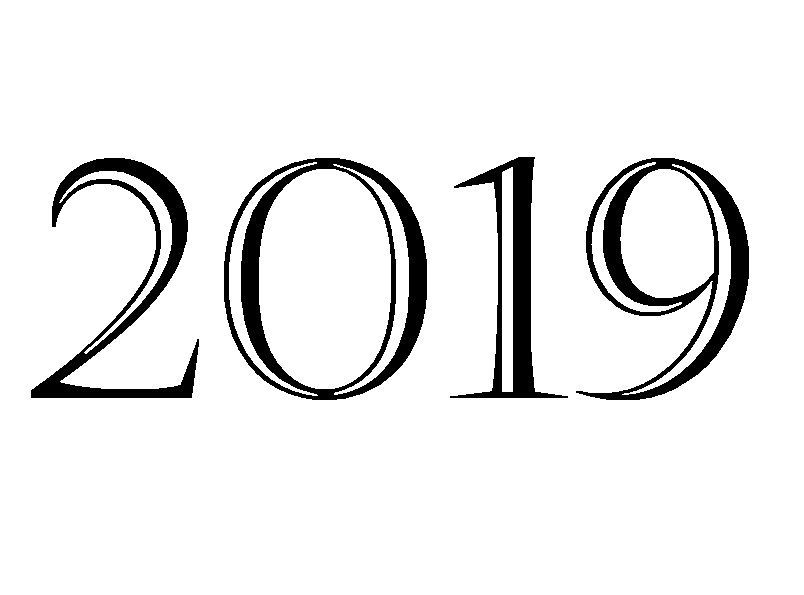 17++ Happy new year coloring page 2019 HD