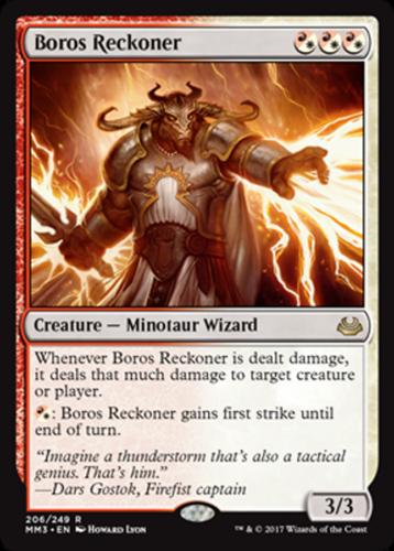 mtg white red boros commander edh deck magic the gathering cards