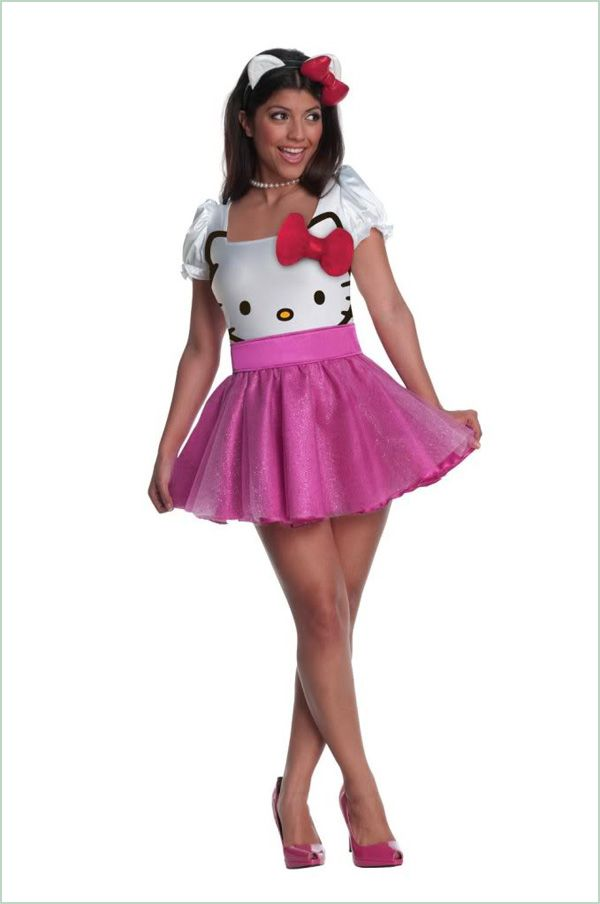 Adult-Costume-Ideas-christmas-party-costume-ideas-womens-hello-kitty, Photo  Adult-Costume-Ideas-christmas-party-costume-ideas-womens-hello-kitty Close up View.