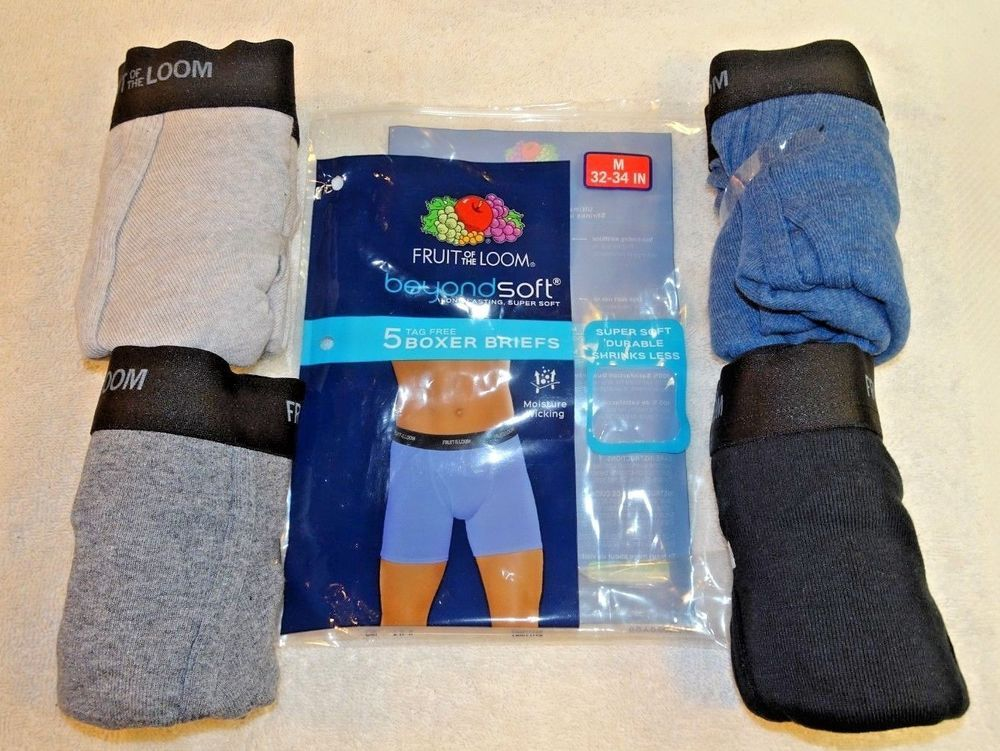 Fruit Of The Loom Beyond Soft Tag Free Boxer Briefs