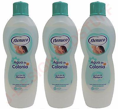 Nenuco Baby Cologne Agua De Colonia 20 3 Oz 600ml 3 Pack Colonia Cologne Plastic Spray Bottle