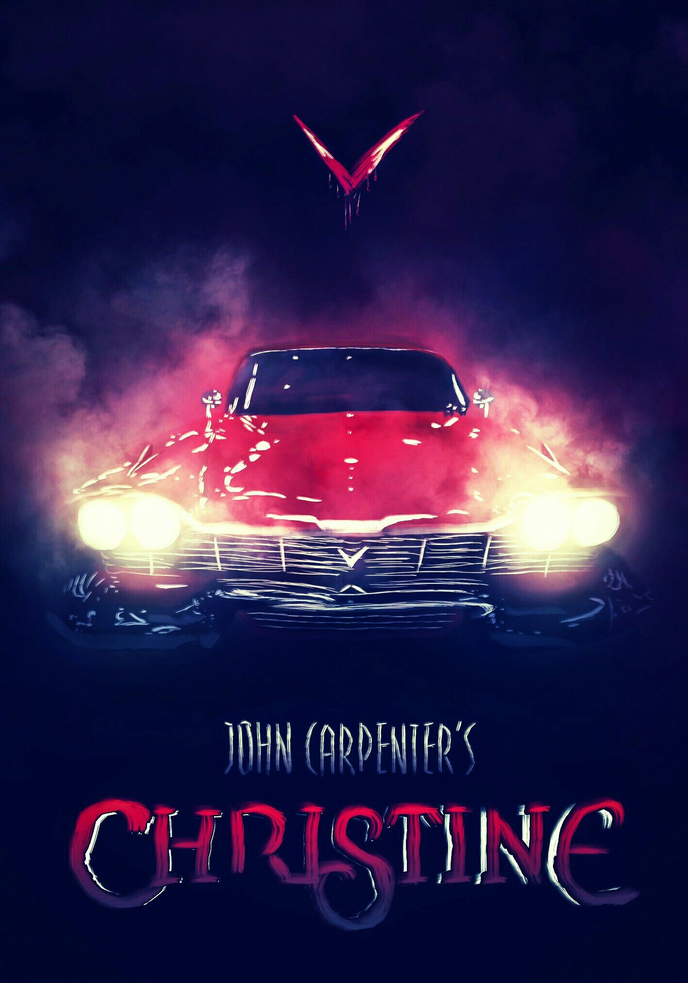 Christine horror posters film posters art cool posters