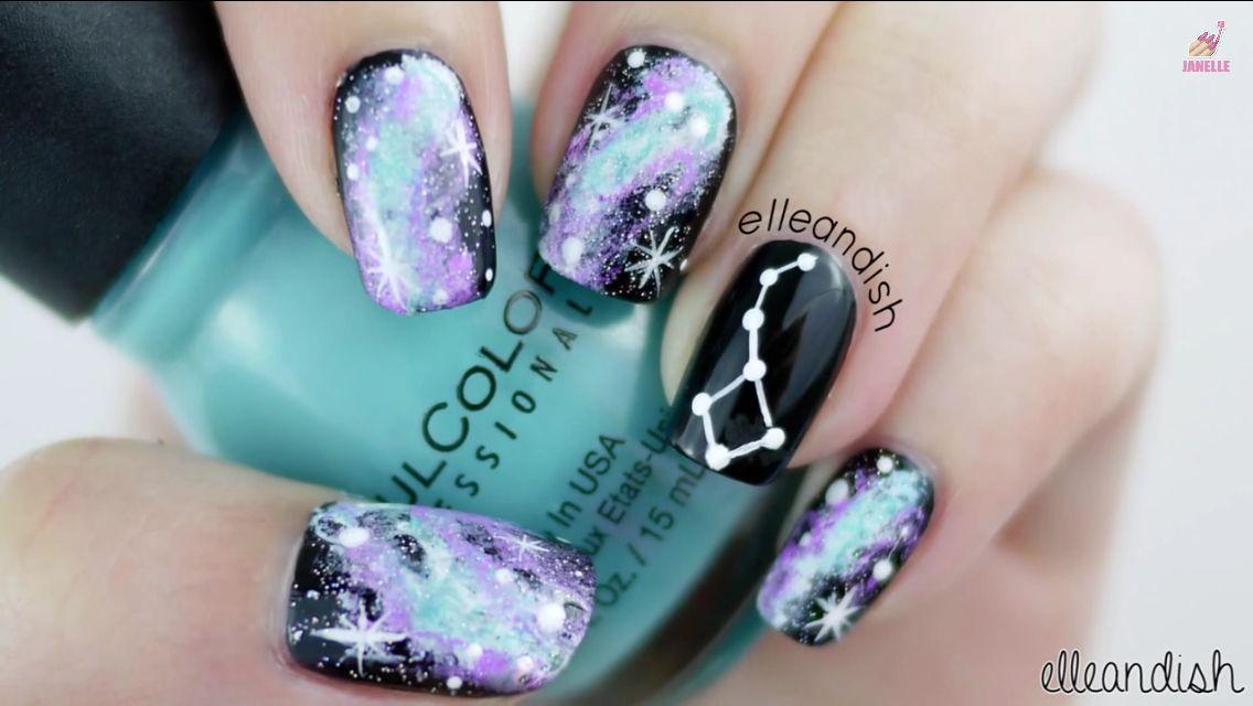 Galaxy nails | Other themed nails | Pinterest | Galaxy nail ...