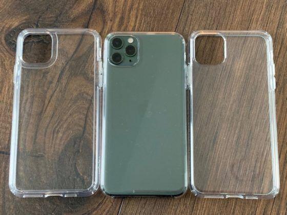iPhone 11 Pro Max Clear Case Review (55) vs Spigen Clear