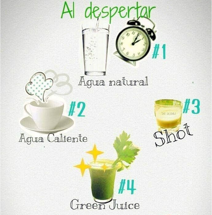 Detox al despertar. #saludable #salud #healthy #BelAra