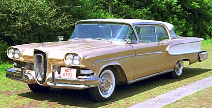 Edsel Is A No Go Edsel Was An Automobile That Never Became