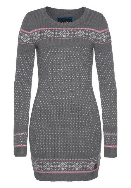 Photo of KangaROOS Strickkleid mit Norweger-Muster kaufen | OTTO
