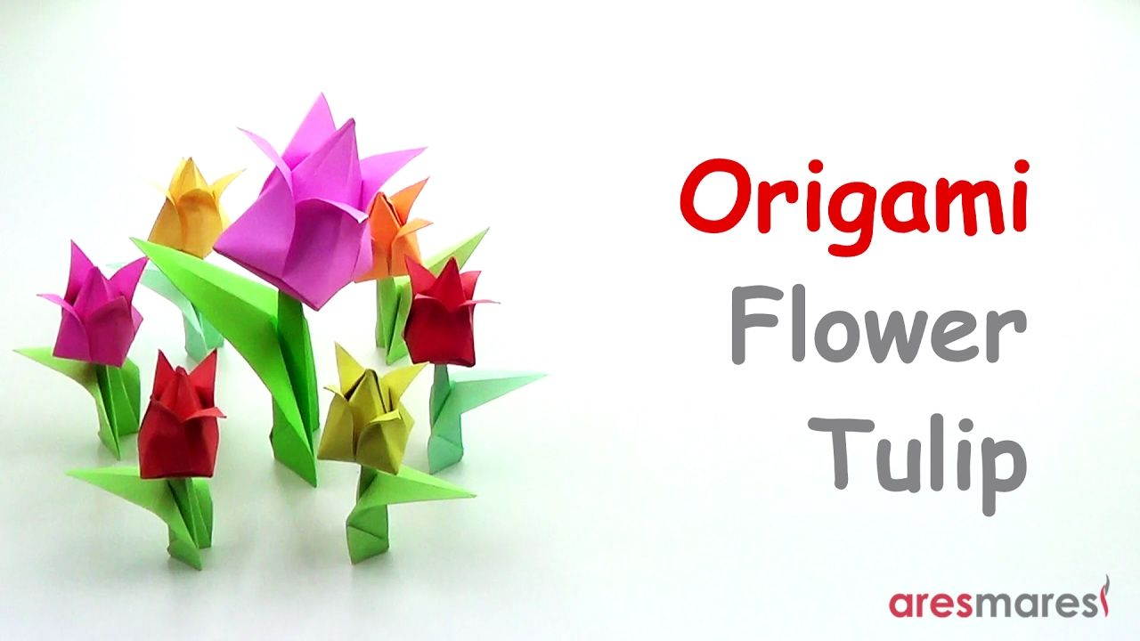 Origami flower tulip easy modular forgot it was valentines origami flower tulip easy modular forgot it was valentines day quick jeuxipadfo Image collections