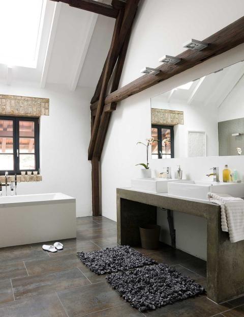 das loft und wie wir darin wohnen badezimmer pinterest loft altbau und badezimmer. Black Bedroom Furniture Sets. Home Design Ideas