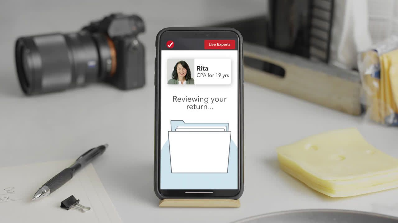 ▷ TurboTax Live - Get a One-on-One Review of Your Taxes