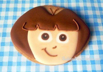 Galletas de Dora, Dora, Dora Exploradora!!!!