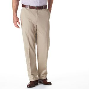 Haggar Work To Weekend Flat Front Casual Pant Boscov S Pants Haggar Casual Pants
