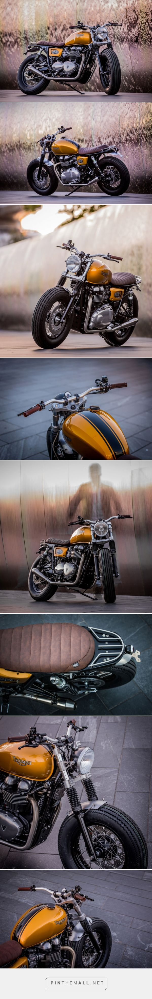 Triumph Thruxton by Down & Out Cafe Racers | Bike EXIF - created via http://pinthemall.net