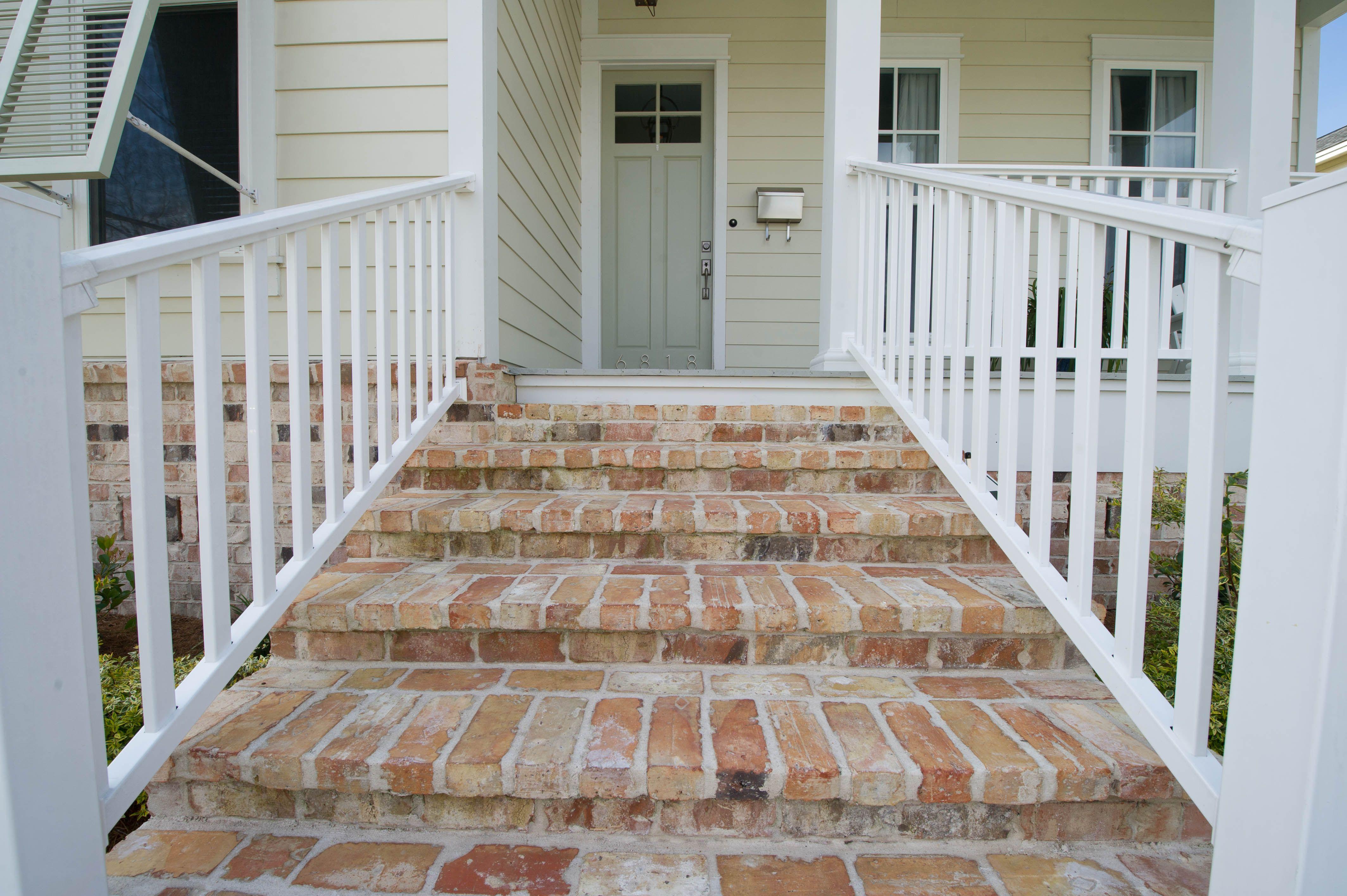 Reclaimed Antique Brick Steps